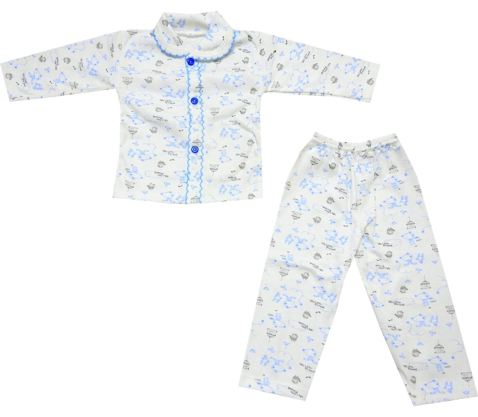 128 wholesale embroidery pyjama for children 9 12 month