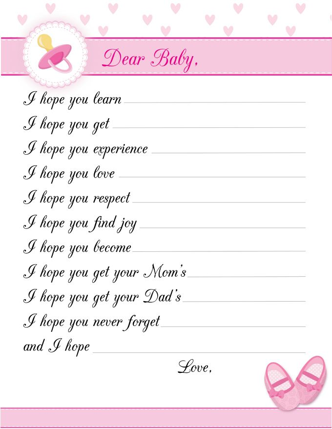 8 Free Printable Baby Shower Games For Girls Baby Shower