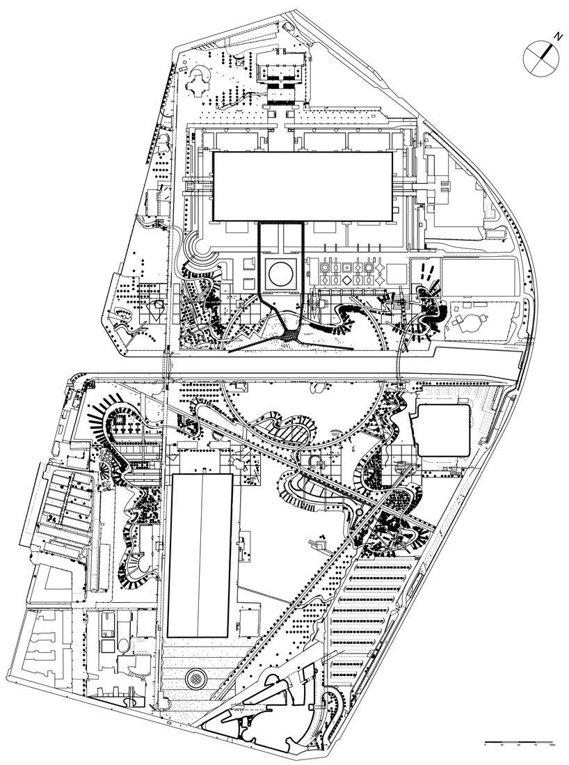 plan of parc de la villette поиск в google plans pinterest