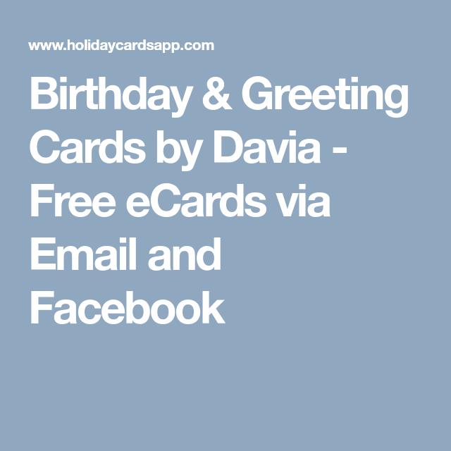 Birthday Greeting Cards By Davia