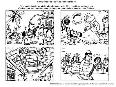 Cristãos kids: Recurso visual - Jesus cura o paralítico | Recursos ...