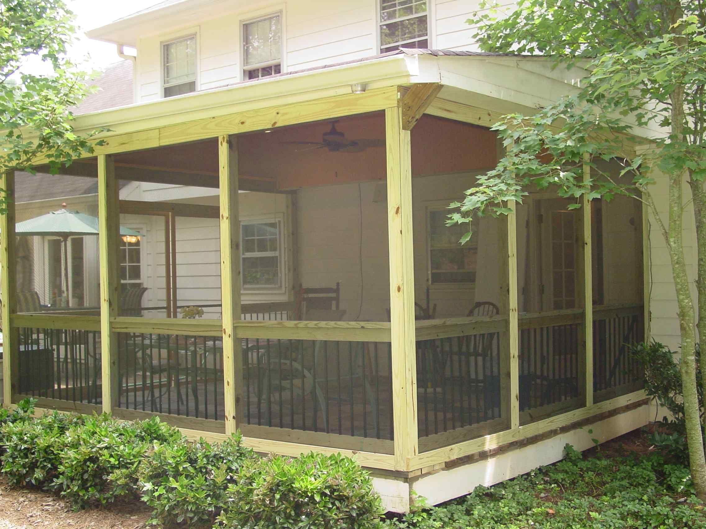 screened in porch plans to build or modify screen porch kits porch kits and screened porches - Screened In Porch Ideas Design
