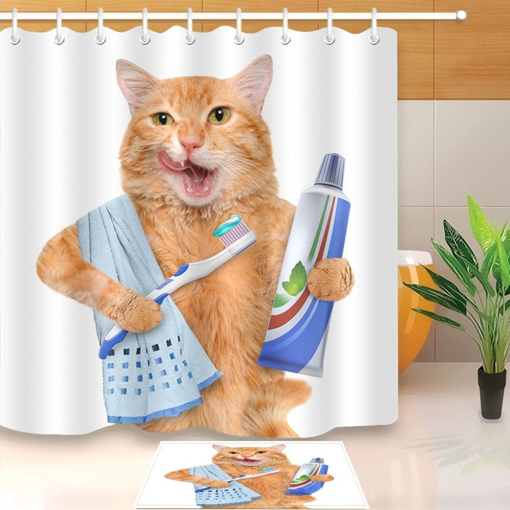 How To Install A Cute Shower Curtain