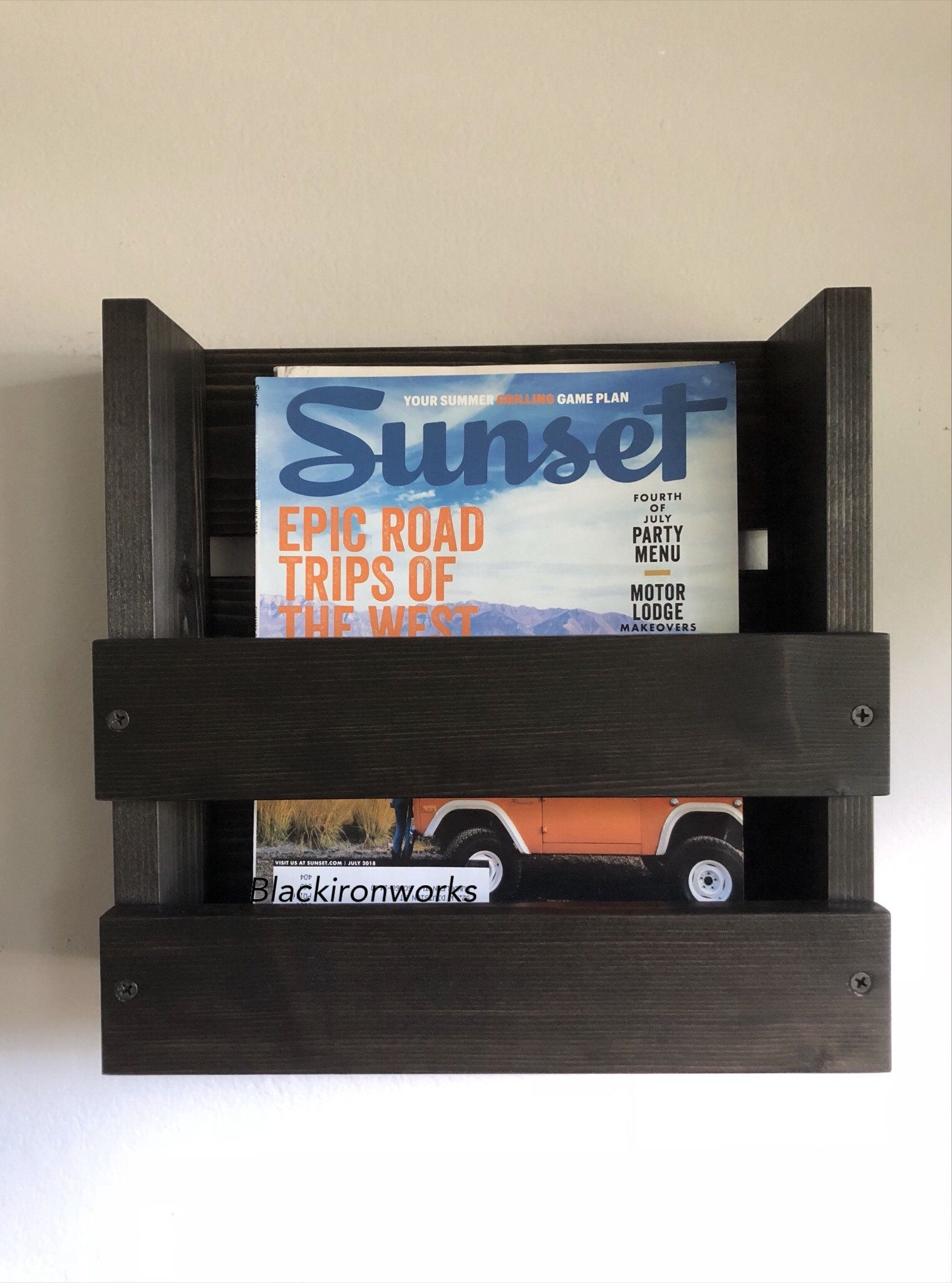 Magazine Rack Office Wall Mounted