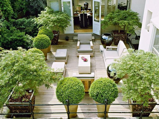 urban english terrace design - Google Search Rose  Dave - Terrace Design