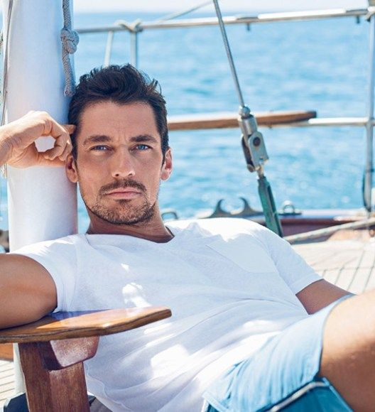 David Gandy Hits the Beach with Marks & Spencer for Autograph Collection