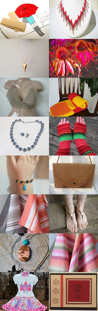 Springtime gifts by Orsi on Etsy--Pinned with TreasuryPin.com