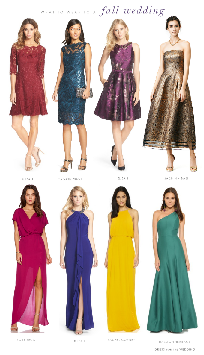 What To Wear To A Fall Wedding Dresses To Wear To A Wedding Cocktail Attire Guest Dresses [ png ]