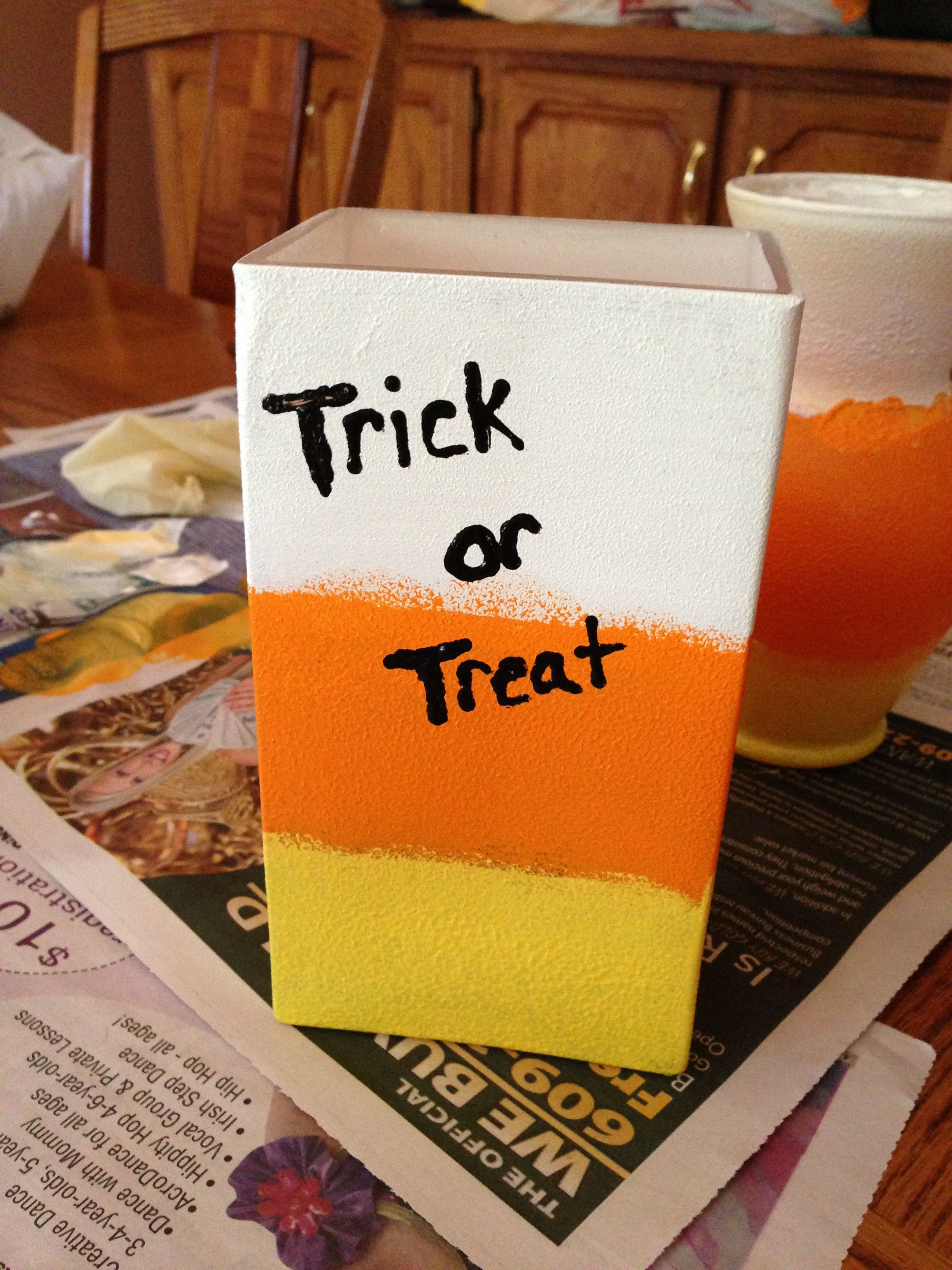 Trick Or Treat Vase