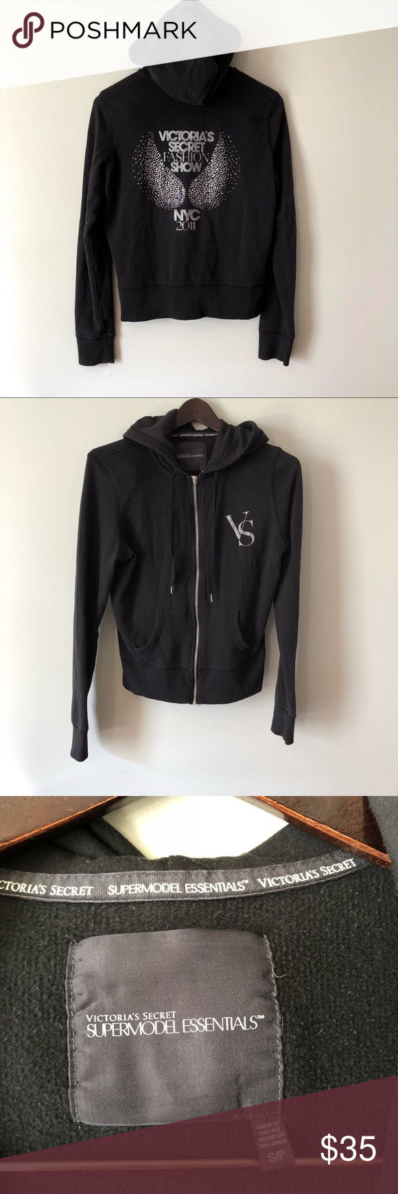 cdf546a9be9d0 Victoria's Secret fashion show hoodie size small Amazing find ...