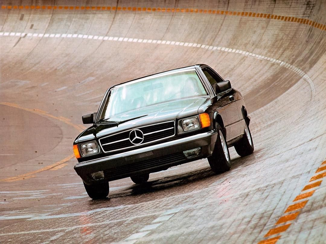Mercedes Benz 380sec Us Spec C126 1981 85 What S A Nice Photo Do You Like It Mercedes Sec Mercedes Benz Mercedes