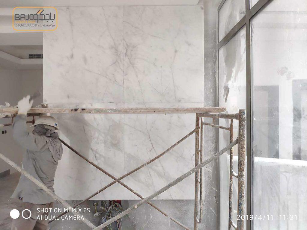 بيانكو بيزا بديل جيد للرخام الابيض الايطالي Marble