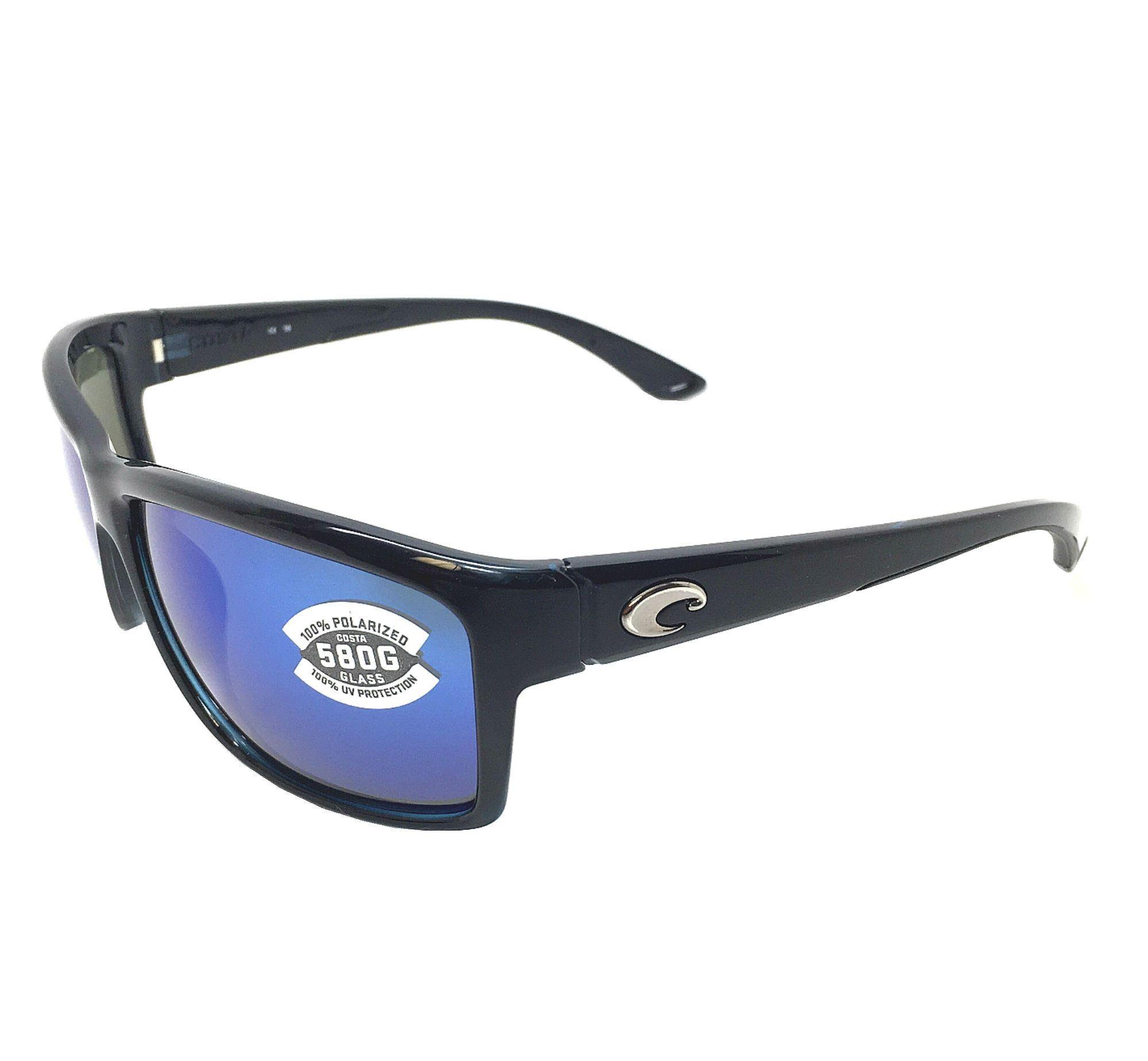a88cb50aee1 Costa Del Mar Mag Bay 580G Black Blue Mirror Polarized Sunglasses ...