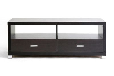 Credenza Dark Brown : 188 new dark brown modern wood veneer media tv hd led lcd dlp
