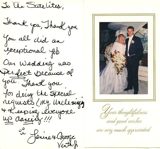 17 Best images about Wedding Thank You Notes – What to Write in Thank You Cards Wedding