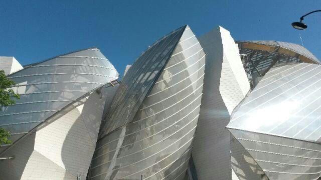 Bois de Boulogne fondation Louis Vuitton