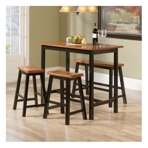found it at wayfair duprey 4 piece counter height pub table set apt pinterest counter height pub table pub table sets and metal furniture