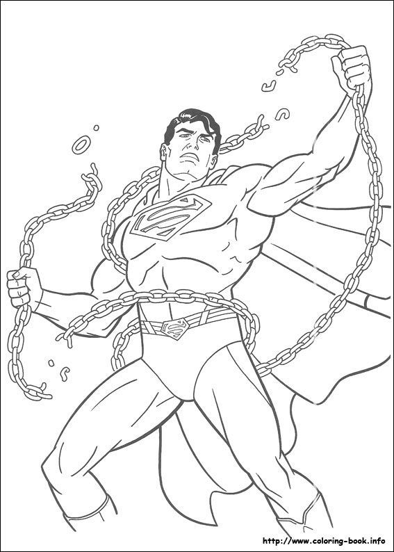 Superman Coloring Pages On Coloring-Book Superman Coloring Pages ...