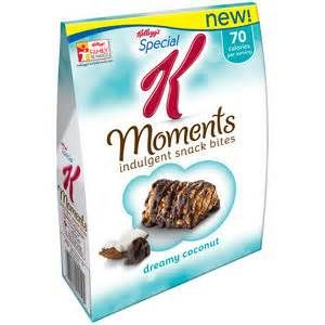 SPECIAL K MOMENTS I got this sample from #bzzagent and I loved it!!  If you get that chocolate craving this is the perfect fix :)