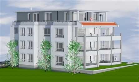Neubau eines Mehrfamilienwohnhauses mit 7