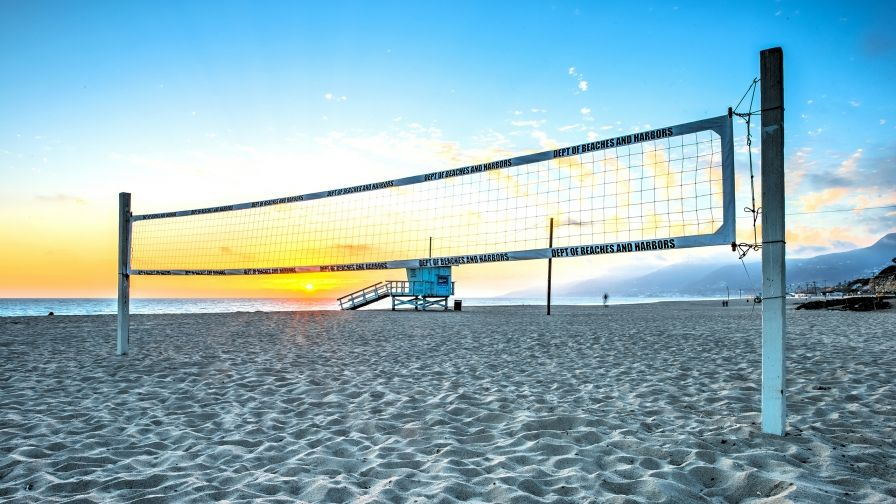 Volleyball Beach Sunset Iphone7 Wallpaper Download Full Free High Definition Volleyball Wallpaper Hd Wallpaper Volleyball Net