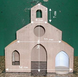 Fabrication De Léglise Nativity Pinterest Christmas