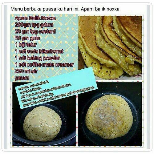Apam Balik Noxxa Food Asian Cooking Recipes