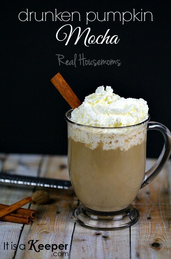 Drunken Pumpkin Mocha | Real Housemoms | Drinks | Real Housemoms ...
