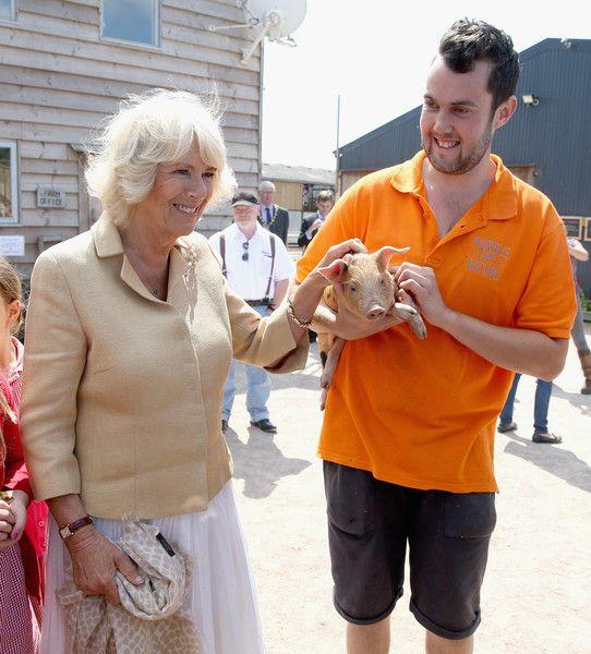 Camilla Parker Bowles Photos Photos: The Prince of Wales & Duchess of Cornwall Visit Wales - Day 4 #visitwales