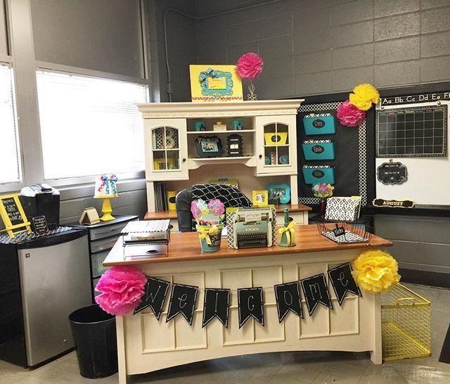 Classroom Decor, Teacher Desk Decor