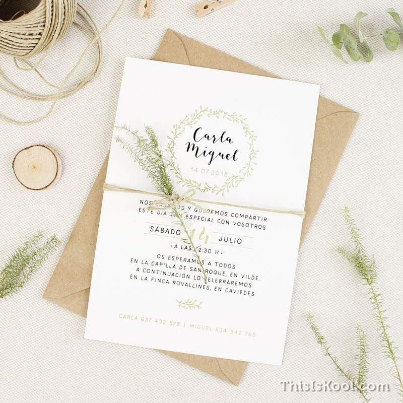 Invitaciones de boda | This Is Kool