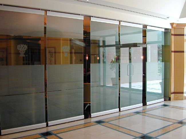 big glass sliders | china sliding glass partitions - large image
