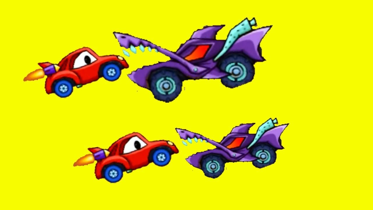 Monster Car and Car Race | Racing Cars for Kids | Video for Children