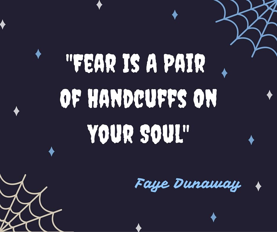 Don't let fear run you!
