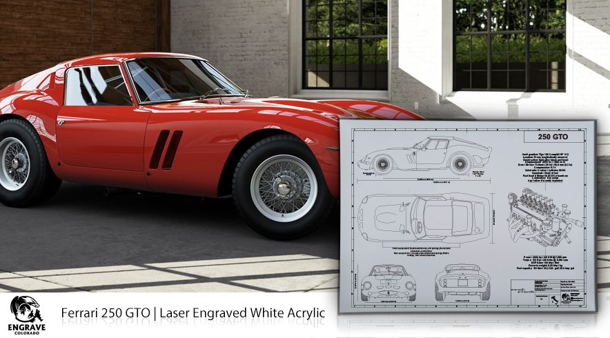 The fantastic ferrari 488 gtb blueprint art ferrari and cars my not have 38 million for her but the laser engraved blueprint art looks great malvernweather Image collections