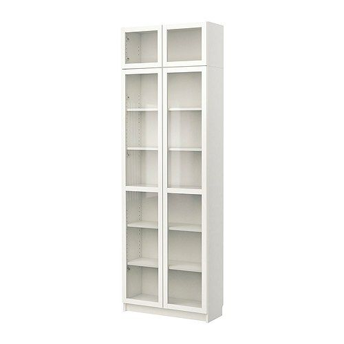 Ikea Libreria Billy Ante.Billy Bookcase With Glass Door White Ikea New Place