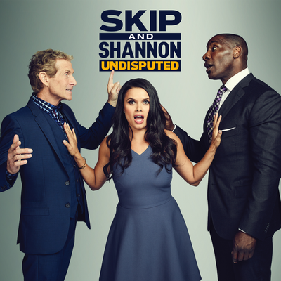 The Skip and Shannon Undisputed podcast with Skip Bayless