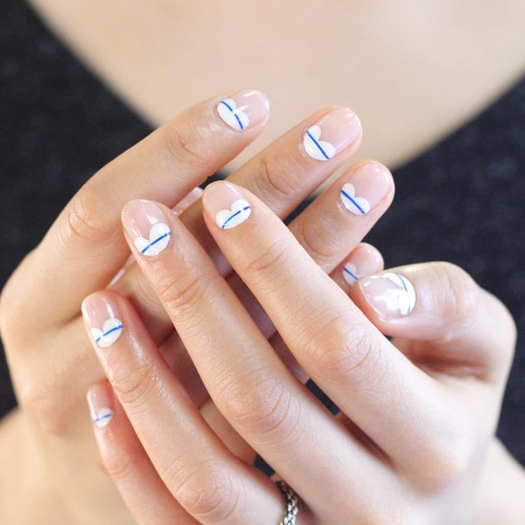 unistella_by_ek_lab | Minimal nails, Simple nails, Manicure