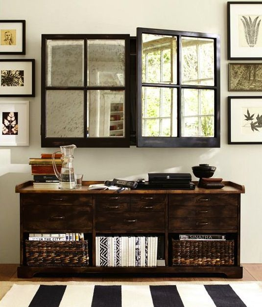hiding tv in living room heavy duty furniture 7 ways to hide your clos du reve there are some brillent ideas here for a this one is mirrored wall cabinet