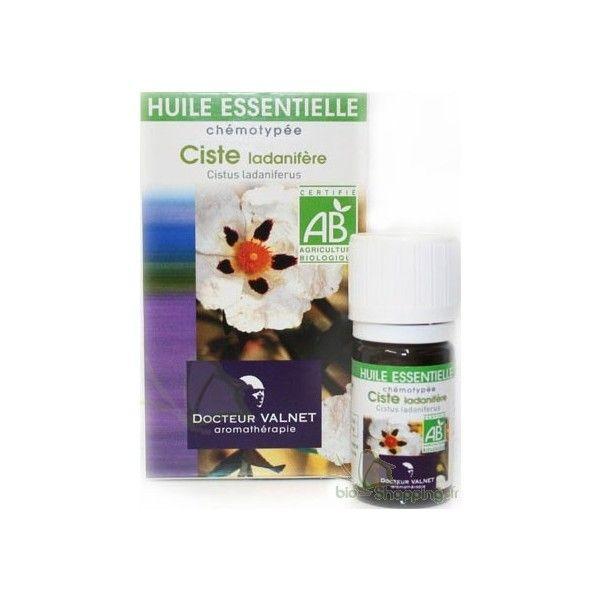 huile essentielle de Ciste Bio vous permettra de faire un soin raffermissant
