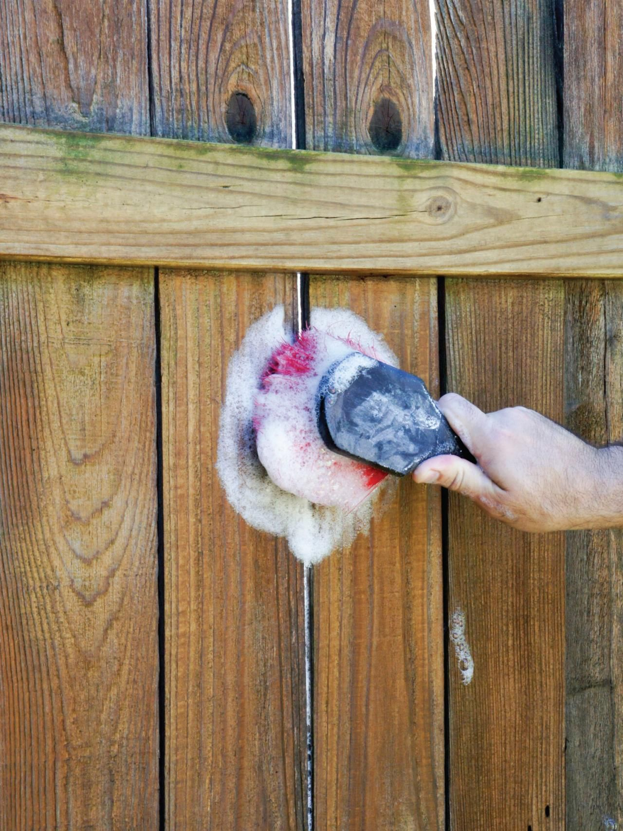 Fence revival a guide to painting and staining wood