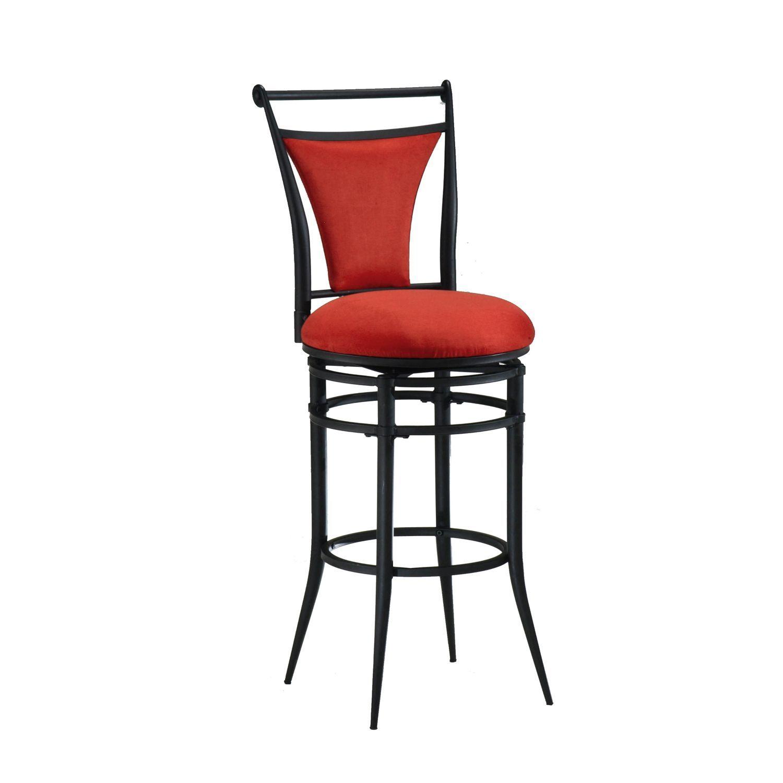 Flame Red Cierra Swivel Counter Bar Stools Pier 1 Imports Bar Stools Swivel Bar Stools Stool