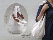 Photo of Easy Fabric Hobo Tote Bag Schnittmuster Die Dollop Bag ist eine einzigartige, anpassungsfähige …