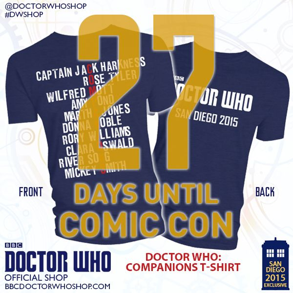 Here S A First Look At One Of Our Sdcc Doctorwho Exclusives Tag Your Favorite Companion Below Comiccon Dwshop C Doctor Who Comics Doctor Who Comic Con