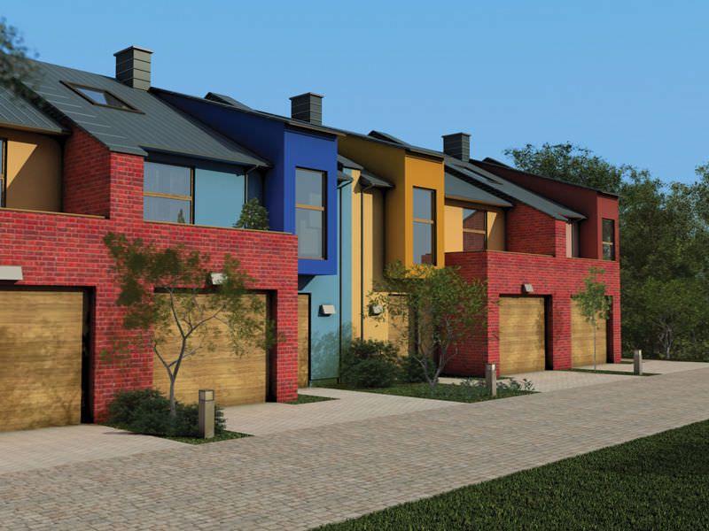 Pintura de fachadas exteriores pintura para fachadas y - Pintura exterior fachada ...