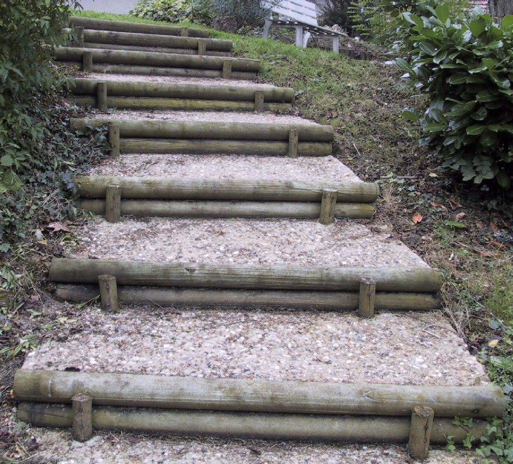 21 Landscaping Ideas For Slopes: 20 Sloped Garden Retaining Wall Ideas