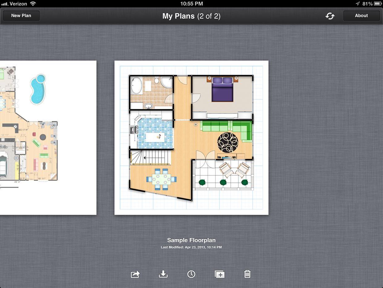 Ipad Floor Plan App Pics