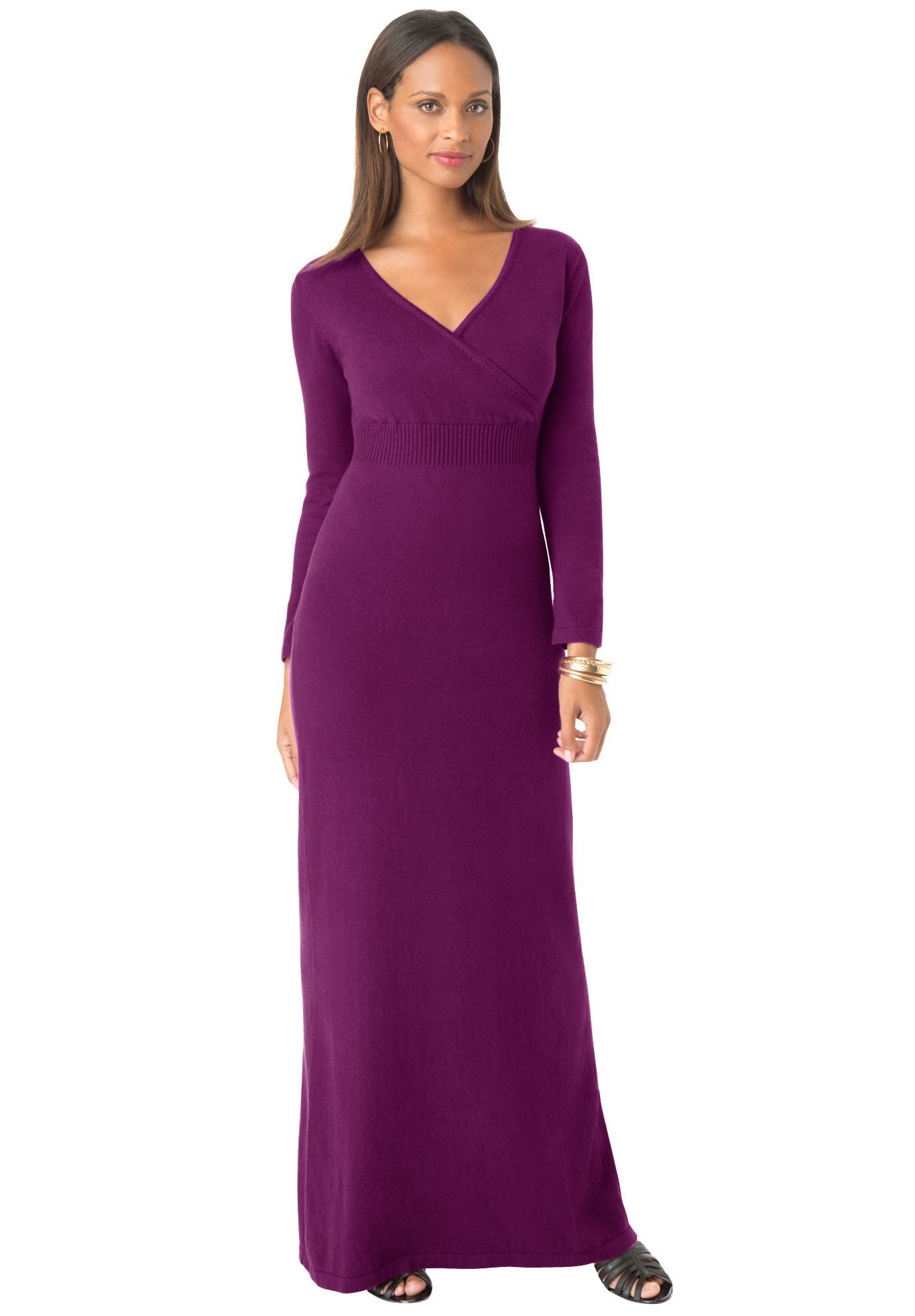Maxi Sweater Dress Plus Size Maxi Dresses Jessica London