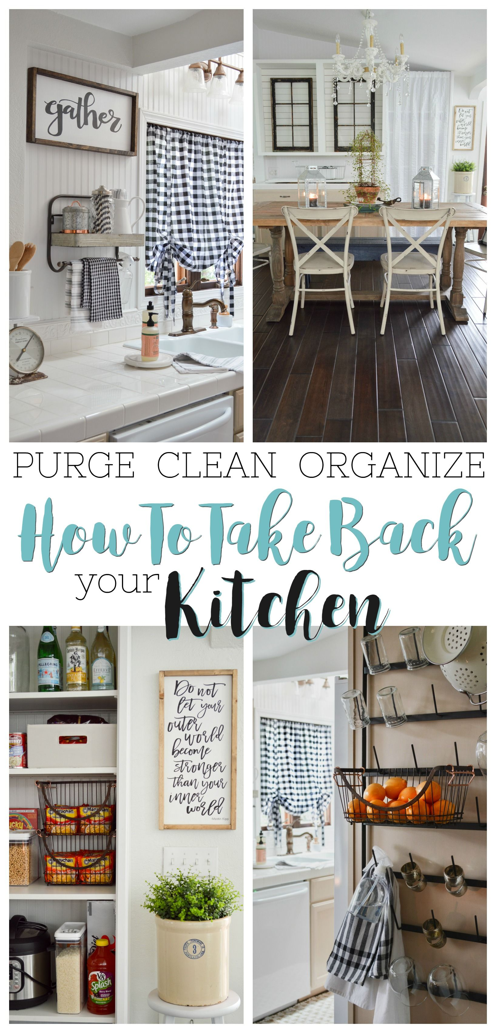 Simple Kitchen Organizing Ideas and Tips | Real life, Walmart and ...