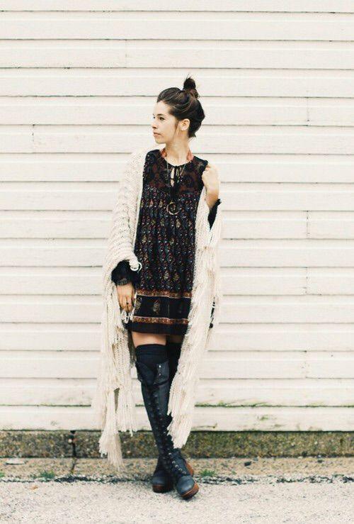 Image via We Heart It https://weheartit.com/entry/145200841 #bohemian #boho #fallfashion #fashion #gipsy #fallstyle #bohostyle